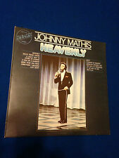 JOHNNY MATHIS - HEAVENLY 33RPM RECORD LP VINYL LONG PLAYER USED