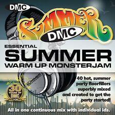 New DMC Warm Up Summer Monsterjam 1 DJ CD June 2013 Release Ivan Santana Megamix