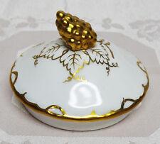 "Royal Crown Derby VINE GOLD 3"" Round Sugar Bowl Lid - crz"