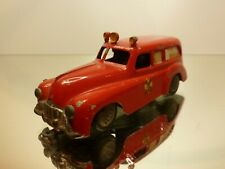 TEKNO DENMARK 731 BUICK AMBULANCE FALCK 1947-1959 - RED 1:43?- GOOD CONDITION