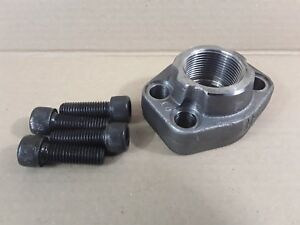 "1.25"" BSP Threaded Hydraulic SAE O Ring Flange Adaptor Code 62 6000 Series *"