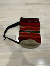 RARE Vintage Pendleton Wool Navajo Aztec Picnic Backpack Bag Satchel Supreme