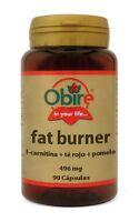 L-CARNITINA + TE ROJO - FAT BURNER. 90 CAPS. OBIRE /DIETA - PERDIDA PESO OB4078