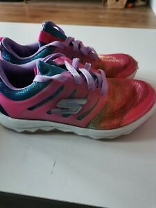 Girls Sketcher Trainers Size 2