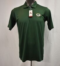 Antigua NFL Mens Green Bay Packers Polo Shirt NWT $60 S
