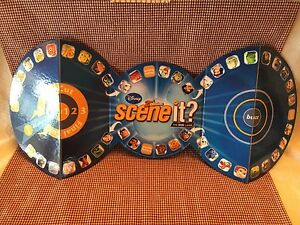 Disney Scene It 2nd Ed-Replacement Game Board-Excellent!