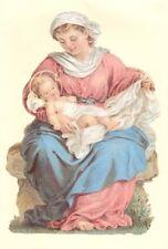 ef Glanzbilder Bild - Karte Riesenoblate ~ Maria mit Kind Madonna  Nr.5018