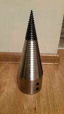 SCREW TYPE log splitter cone Diameter 90mm, length 260mm  + SPARE TIP Included!