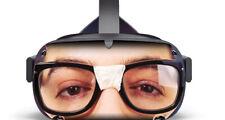 Geek vinyl skin that fits the Oculus Quest