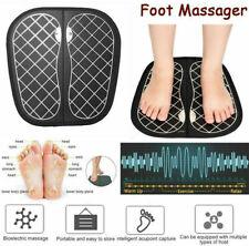 EMS Massage Mat Electric Vibration Foot Leg Acupoints Massager Pain Relieve US