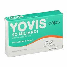 YOVIS CAPS - Integratore di Fermenti Lattici Vivi da 50 Miliardi - 10 CAPSULE