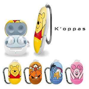 Official Disney Winnie The Pooh Samsung Galaxy Buds Hard Case Cover With Clip