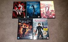 RESIDENT EVIL JOBLOT 5DVD NEW S/T, Apocalyse, Extinction, Afterlife, Retribution