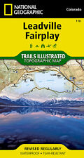 National Geographic Trails Illustrated Map: Leadville, Fairplay