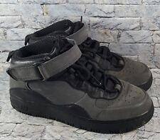 767fefe719fc Air Jordan AJF 10 Retro Fusion Black Gray Red Athletic Basketball Shoes Size  7Y