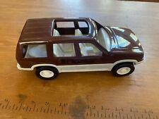 PLASTIVAN toy vehicle Detroit Secron car Society of Plastics Engineers SUV NOS