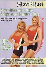SLOW DUET SLOW MOVES FOR A FAST SHAPE-UP IN MINUTE (Vedral) - DVD - Region Free