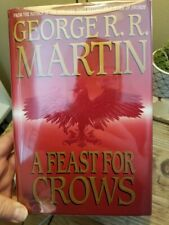 A Feast for Crows - George R.R. Martin GOT Bk 4 1st Ed 1st Print HB DJ Like New!