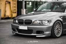 schwarz glänzend Nieren 3er BMW E46 Cabrio Facelift Frontgrill M3 salberk 4604