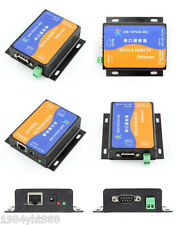 RS232 RS485 Serial To Ethernet TCP/IP Converter With DHCP/HTTPD