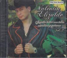 Valentin Elizalde Grandes Exitos Con Tuba Acordeon y Guitarra Vol2 CD New Sealed