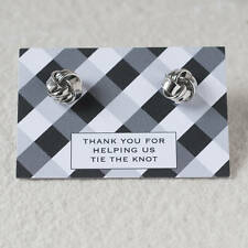 Thanks For Helping Us Tie The Knot Cufflinks