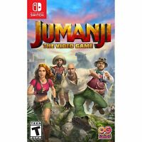 Jumanji The Video Game - Nintendo Switch - Brand New Sealed