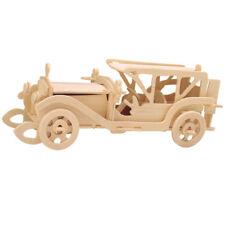 Sunbeam 3D Holzbausatz Auto Sport Wagen Oldtimer Holzpuzzle Steckpuzzle Holz Bau