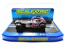 "Scalextric ""Ford Retail"" Caterham Superlight 1/32 Slot Car C3647"