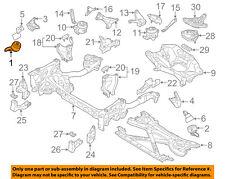 AUDI OEM 11-12 A8 Quattro-Engine Motor Mount/Torque Strut 4G0199382AE
