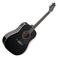 Stagg Sw201bk-vt - Guitarra con Cuerdas Metalicas (tipo D