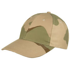 MFH Mens Baseball Cap Army Military Adjustable Strapback 3 Colour Desert Camo
