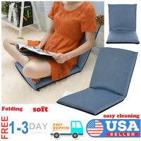 Adjustable 6-Position Folding Lazy Sofa Chair Floor Chair Multi-angle Home Seats