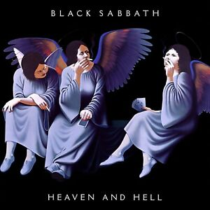 BLACK SABBATH Heaven and Hell BANNER HUGE 4X4 Ft Fabric Poster Flag Tapestry art