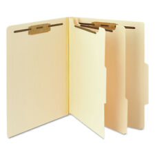 Smead 14000 Manila Classification Folders With 25 Right Tab 6 Section New
