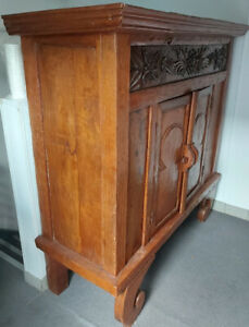 Indonesian Handcarved Cabinet