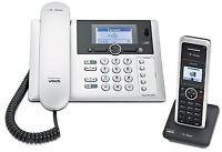 Telekom Sinus PA302i+1 ISDN Telefon mit Anrufbeantworter und Mobilteil Schnurlos