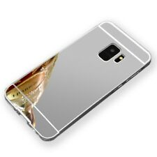 ESPEJO PARACHOQUES DE ALUMINIO 2 piezas plata para Samsung Galaxy S9 g960f