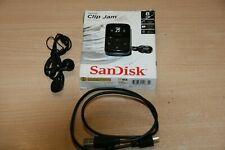 Sandisk Clip JAM Schwarz Mp3-Player 8GB + erweiterbar