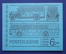 Sweden (990a) 1973 Mail Coach MNH booklet