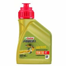 HUILE MOTO CASTROL POWER1 SEMI SYNTHESE 4T 15W50 500ml PE_36010343 MOTOMIKE 34