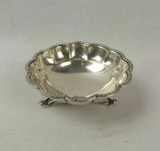 Antique Solid Silver Dishes/Coasters