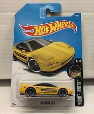 '90 Acura NSX #94 * Yellow * 2017 Hot Wheels * NE18