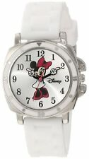 Official Licensed Disney Minnie Mouse Character White Rubber Analogue Watch SALE