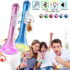 K1 Wireless Bluetooth Karaoke Handheld Microphone Home Mic KTV TF Speaker Player