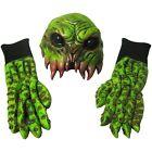 Sea Creature Mask  Gloves Octopus Hands Tentacles Adult Halloween Costume Set