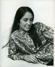 Joan Baez Rare Original Photo Agency Stamped Vintage 1965 Portrait Photograph