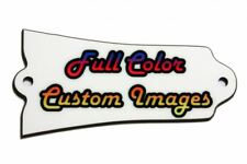 Custom Personalized Truss Rod Cover w/ your picture or logo fits Gibson® guitars