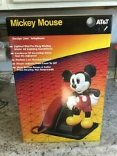 At&T Mickey Mouse Phone, Brand New In Box, Never Opened, All Original