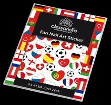 alessandro Nail Art Sticker - EM FAN STICKER 3 Blatt  *NEU + OVP*